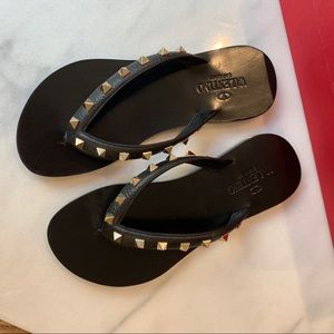 Shoes - Valentino Studded Sandals NEW/NEVER WORN Size 6